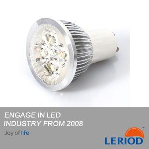 Warme weiße Farbe, die GU10 LED Punkt-Beleuchtung 4W ändert