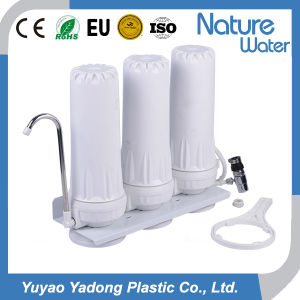 3 Stufe-Table-Top Wasser-Filter