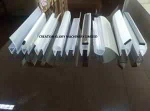 Qualitäts-Dusche-Profildichtung-Streifen-Plastikstrangpresßling-Zeile