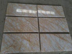 Araña de oro a cortar azulejos de mármol de tamaño 12x24''.
