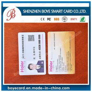 Identificazione Card del PVC Plastic Photo in Smart Card Field