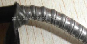 La envoltura exterior (el doble de resorte de acero) para el cable de la motocicleta
