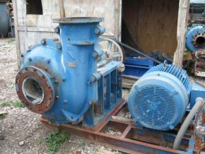 Mineral Processingの遠心Slurry Pump