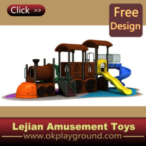 Forma Train Style Outdoor Plastic Playground (12059A)