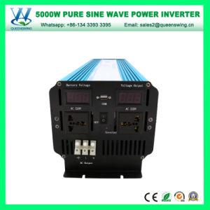Capacidade total de 5000W, alta eficiência carro senoidal pura Inversor (QW-P5000)
