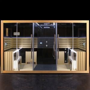 De nieuwe Zaal van de Sauna van de Stoom van het Ontwerp Multifunctionele met de Prijs van de Fabriek (SR160)