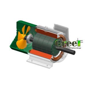 0.5kw - Dauermagnetgenerator der einfachen Pflege-5000kw, niedriger U/Min Drehstromgenerator der langen Lebensdauer-