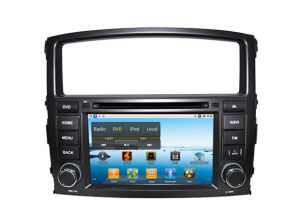1g CPU를 가진 Pajero V97 GPS를 위한 순수한 Android 2.3 Car DVD, 512m RAM, Capacitive Screen, (, WiFi 선택 3G) Canbus