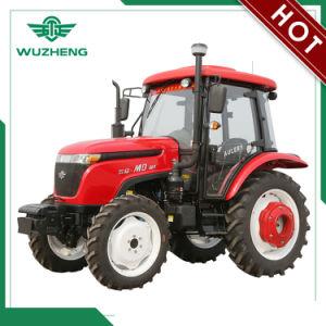 WUZHENG 55HP tracteur avec boîte de vitesses de changement de synchronisation