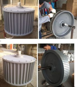 100kw AC380V 750rpm, 3 Phasen-Wechselstrom ausgegebener Dauermagnetgenerator