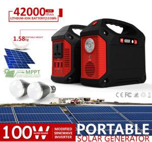 LEDの携帯用太陽発電機100wattsが付いている多機能の太陽電池パネルキット