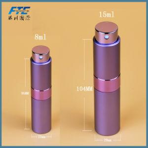 Venta caliente Mini portátil para viajar el aluminio frasco de perfume recargables