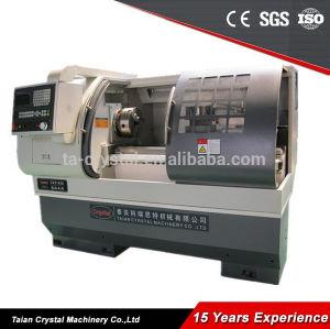 Macchina del tornio di CNC di fabbricazione, tornio per il taglio di metalli Ck6140A