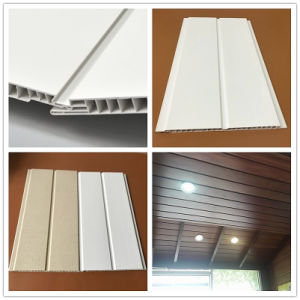 De PVC de 250 mm de ancho de PVC Panel laminado Panel del techo de PVC paneles de pared en Zhejiang China DC-264