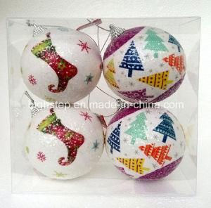 Bola del patrón de la Navidad