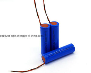 Un38.3の太陽ランタンのためのリチウムイオン電池18650 3.7V 2000mAh