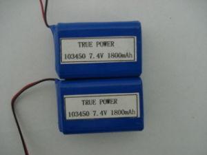 Li 이온 건전지는 POS 단말기 장비 건전지를 위한 7.4V 1800mAh 103450-2s를 포장한다