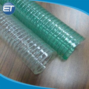 鋼線の吸引PVC適用範囲が広い管の高圧頑丈な紫外線化学抵抗力があるビニールのホース