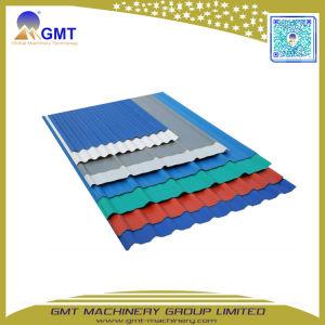 PVC de tuiles de toiture en carton ondulé feuille plastique panneau Machines de l'extrudeuse