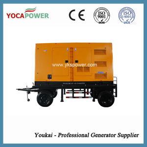 300kw 전기 침묵하는 디젤 엔진 발전기 이동할 수 있는 힘 Genset