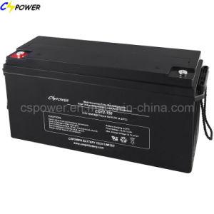 Высокая емкость с длительным сроком службы солнечных Гелиевый аккумулятор 12V 150Ah Cg12-150