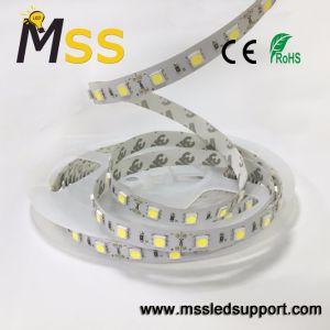 Un alto rendimiento 60LED Flexible SMD/M5050 con TIRA DE LEDS DE HOMOLOGACIÓN CE RoHS