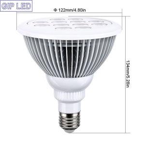 Bajo Consumo 12W E27 Bombilla LED crecer