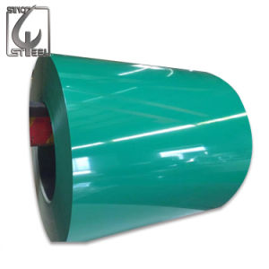 0.4mm Prepainted a bobina de aço revestida cor galvanizada PPGL de PPGI