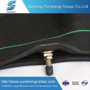 2.75-17, 3.00-17, 3.00-18, 3.25-18, 90/90-18, tubo interno del motociclo resistente estremo della gomma naturale della gomma butilica 4.10-18