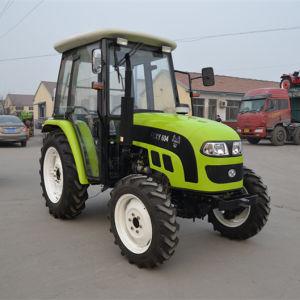 35HPローダーまたはすきが付いている40HP-75HPによって動かされる農業の農場トラクター