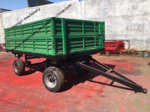 De Tippende Aanhangwagens van het landbouwbedrijf voor de Tractor van het Landbouwbedrijf