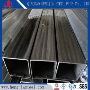 JIS SUS304 Cuadrado soldar tubos de acero inoxidable