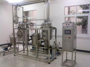 Strumentazione solvibile del distillatore dell'olio essenziale