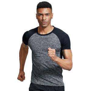 능동태는 주문 로고로 남자 체조 적당 t-셔츠를 건조하 적합했다