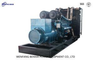 16 cilinders 4 de Diesel van Weichai van de Slag Reeks van de Generator met de Alternator van Faraday