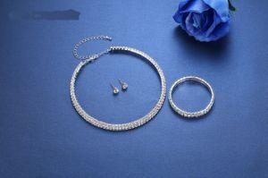 Afrikaan parelt de Reeksen van de Juwelen van het Huwelijk van het Bergkristal