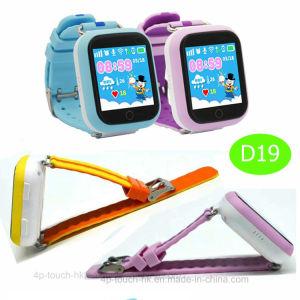 2g GPS van jonge geitjes de Drijver van het Horloge met Nano SIM Kaart D19