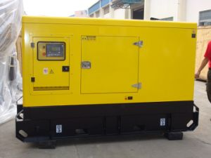 40kVA de 32kw Yuchai silencioso Generador Diesel insonorizado tipo