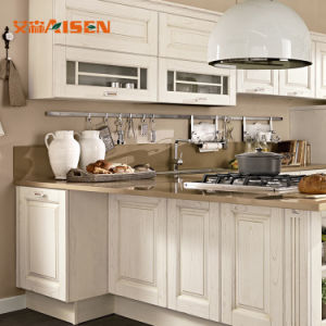 De heetste Amerikaanse Standaard Klassieke Houten Keukenkasten van het Mahonie van Types