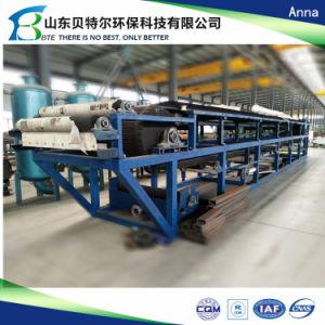 Le charbon Slime assèchement de la machine, de la courroie d'aspiration Filtre presse