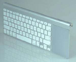 K118 het PROToetsenbord Touchpad van Slimtouch