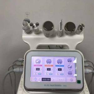 6 en 1 portátiles de oxígeno Hydra Cuidado de la piel Peeling facial inyectar oxígeno dispositivo Skin Care