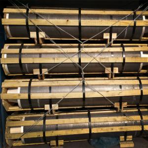 Grado de potencia ultra-alta de electrodos de grafito de carbono para la fundición hornos de arco eléctrico con pezones