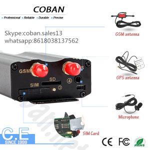 Auto-Verfolger GPS Tk103A GPS-G/M mit Tür, ACC, Kraftstoff-Warnungssystem auf dem web server, das Software aufspürt