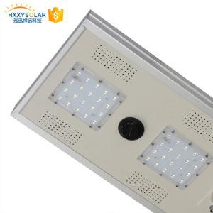 防水IP65動きセンサー統合されたLEDの太陽街灯40W