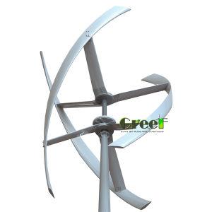 Baixa Rotação vertical de 5 kw turbina eólica para tejadilho