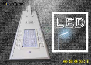 Straßenlaterne des Telefon APP-Steuerintegrierte IP65 Sonnenkollektor-LED