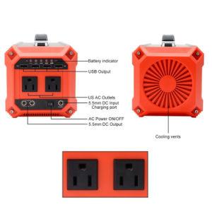 발전기 300W를 사용하는 태양 발전기 시스템 휴대용 태양 에너지 홈