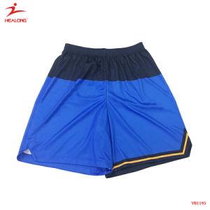 파란 농구 제복을 인쇄하는 주문 셔츠 디지털 스포츠 착용