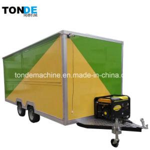 Mobiles Nahrungsmittelauto-elektrischer Nahrungsmittel-LKW